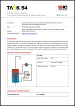 INFO Sheet A07: Reference System, Germany Conventional heating system for single-family house