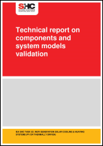 Technical report on components and system models validation