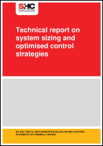 Technical report on system sizing and optimised control strategies