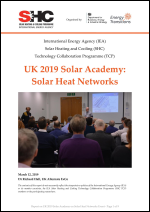 UK Solar Academy On-site Training on Solar Heat Networks Report