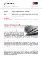 Polymeric Liner Materials for Hot Water Heat Storages