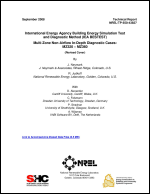 International Energy Agency Building Energy Simulation Test and Diagnostic Method (IEA BESTEST)